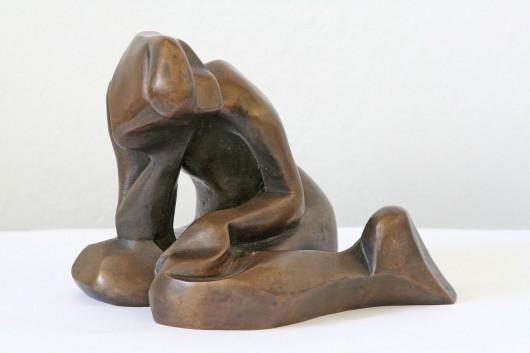 """Katarzyna Kobro, """"Akt dziewczyny"""", 1949 (źródło: materiały prasowe organizatora)"""