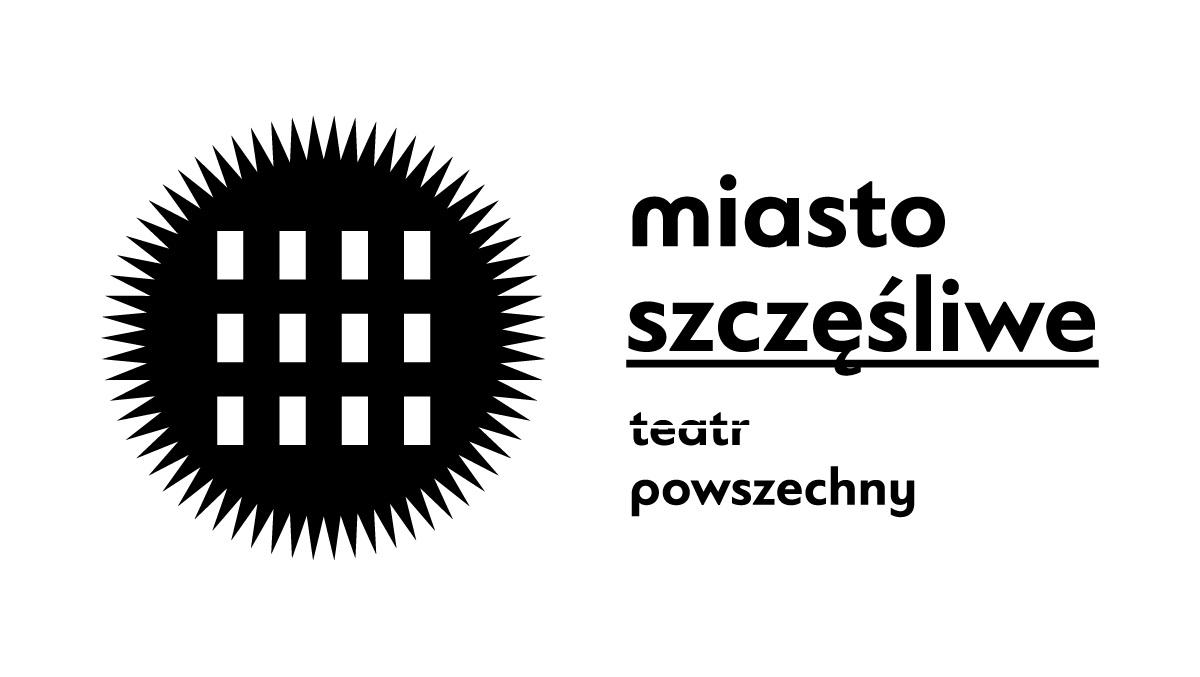 Miasto Szczęśliwe Festiwal Sztuki i Społeczności – Logo (źródło: materiały prasowe organizatora)