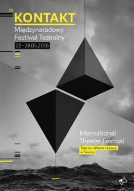 Międzynarodowy Festiwal Teatralny Kontakt – plakat (źródło: materiały prasowe organizatora)