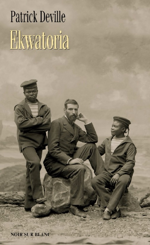 """Patrick Deville, """"Ekwatoria"""" – okładka książki (źródło: materiały prasowe wydawcy)"""