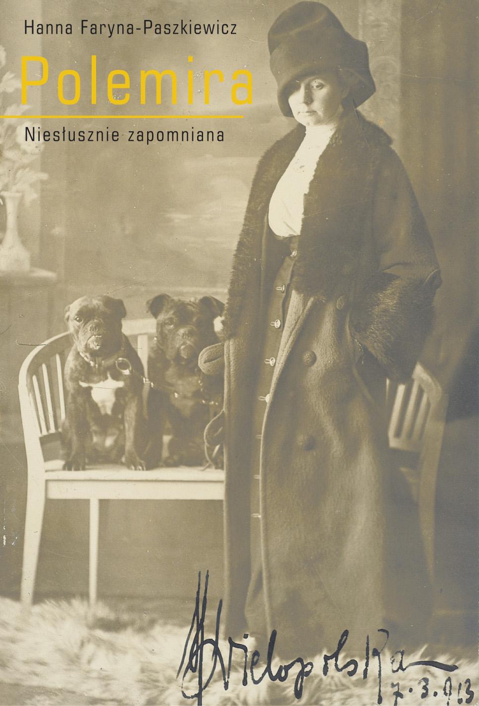 """Hanna Faryna-Paszkiewicz, """"Polemira. Niesłusznie zapomniana"""" – okładka (źródło: materiały prasowe)"""