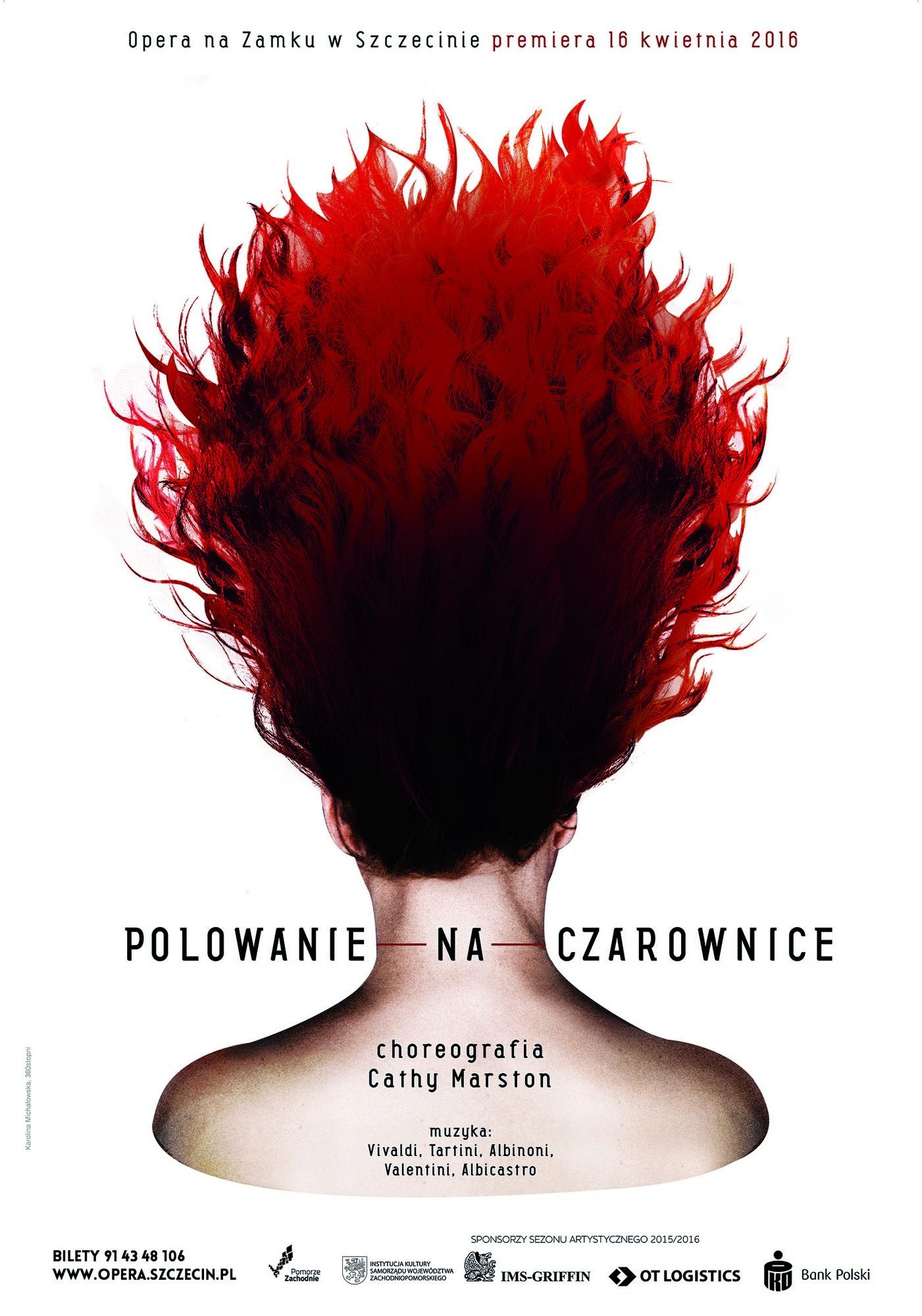 """""""Polowanie na czarownice"""", autorka plakatu: Karolina Michałowska (źródło: materiały prasowe)"""