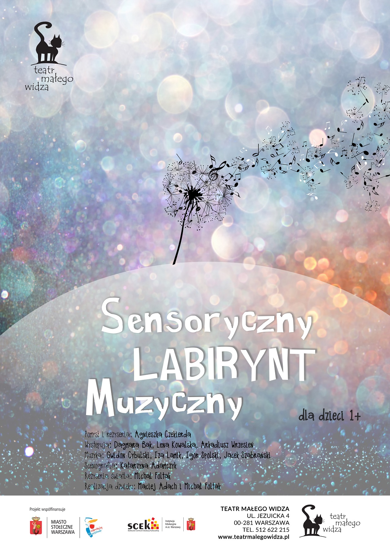 """""""Sensoryczny Labirynt Muzyczny"""", reż. Agnieszka Czekierda (źródło: materiały prasowe organizatora)"""