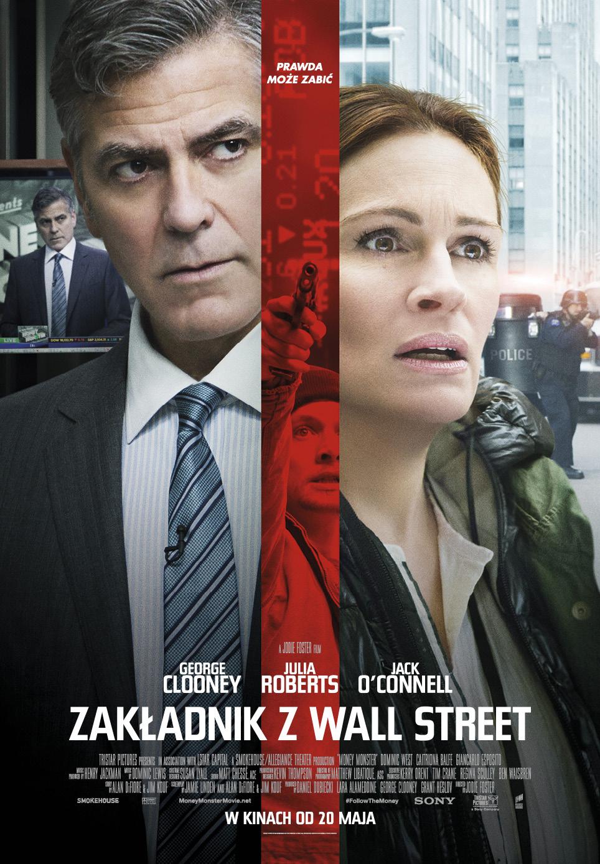 """""""Zakładnik z Wall Street"""", reż. Jodie Foster, plakat (źródło: materiały prasowe dystrybutora)"""