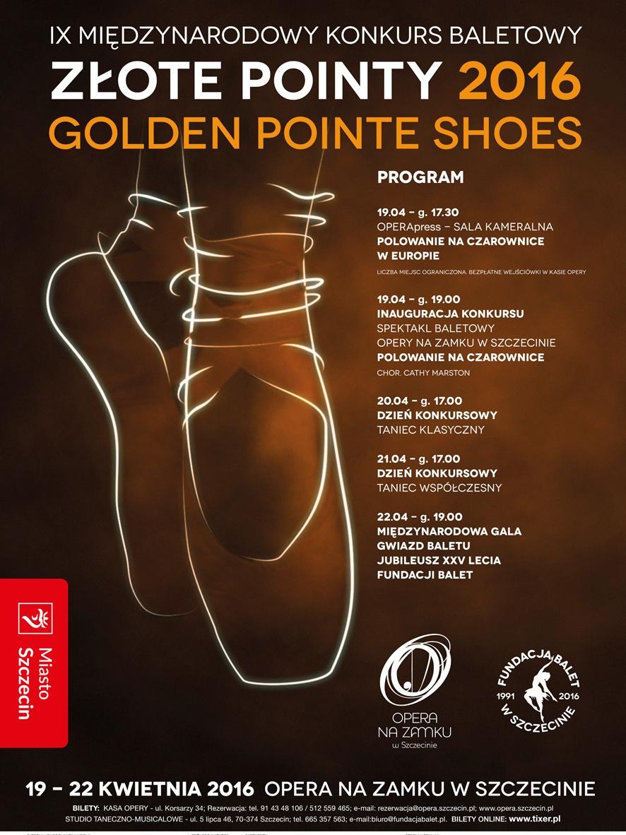 """""""Złote Pointy"""" – plakat (źródło: materiały prasowe organizatora)"""