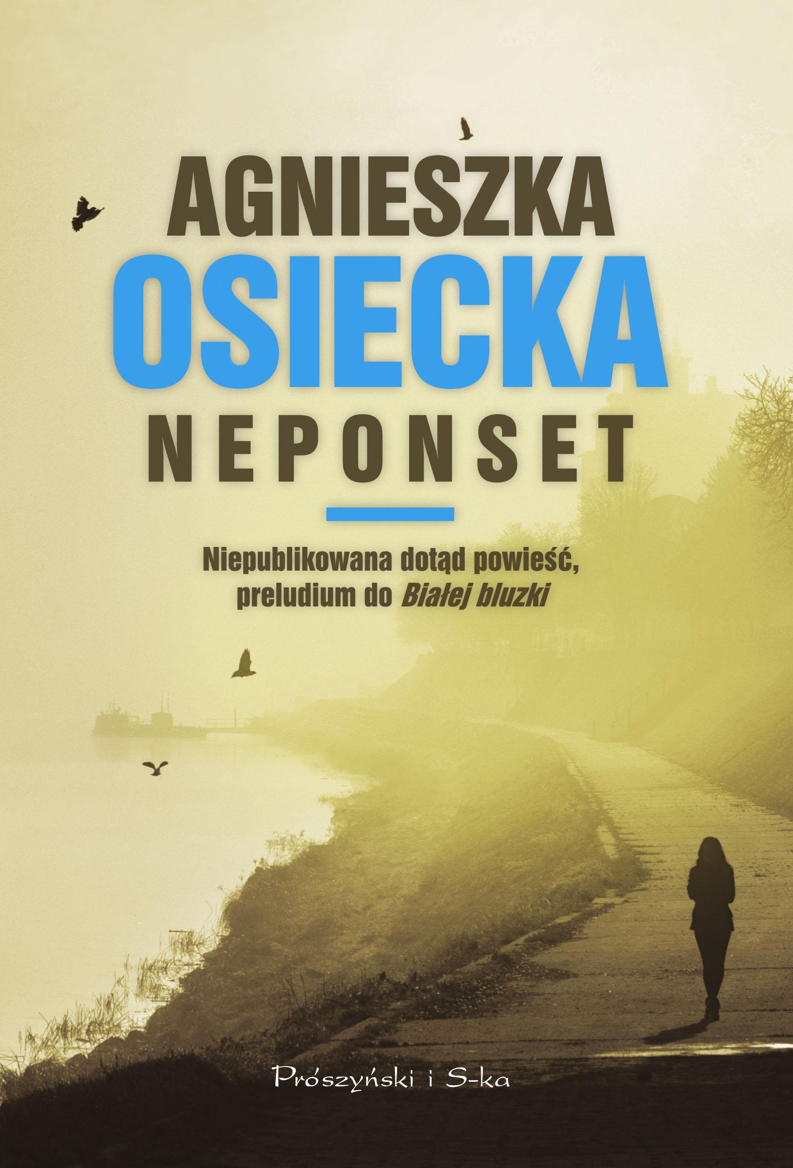 """Agnieszka Osiecka, """"Neponset"""" – okładka książki (źródło: materiały prasowe wydawcy)"""