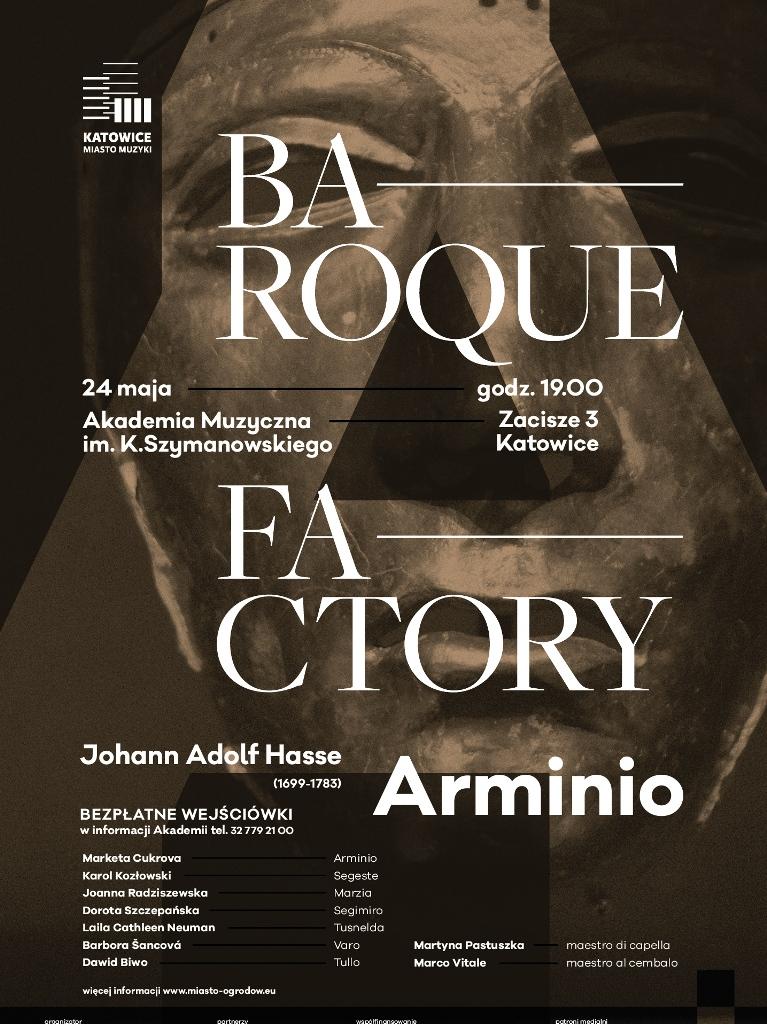 "Opera ""Arminio""– plakat (źródło: materiały prasowe organizatora)"