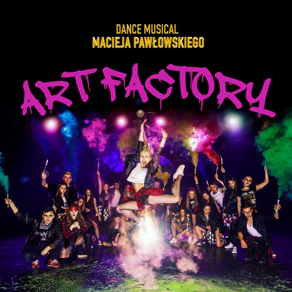"""""""Art Factory"""", reż. Maciej Pawłowski – plakat (źródło: materiały prasowe organizatora)"""