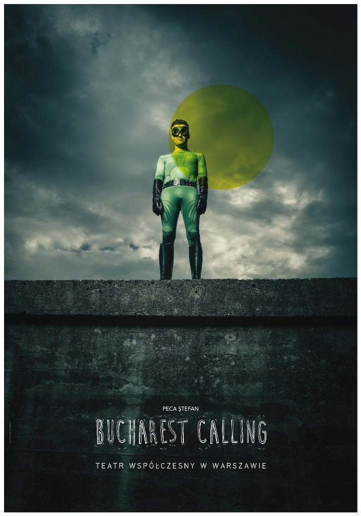"""Bucharest Calling"""", reż. Jarosław Tumidajski – plakat (źródło; materiały prasowe organizatora)"""