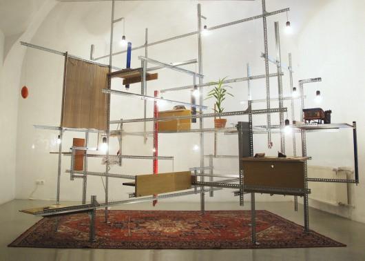 "Tamás Kaszás, ""Megaschron"", 2011, kolekcja MUDAM, Luksemburg (źródło: materiały prasowe organizatora)"