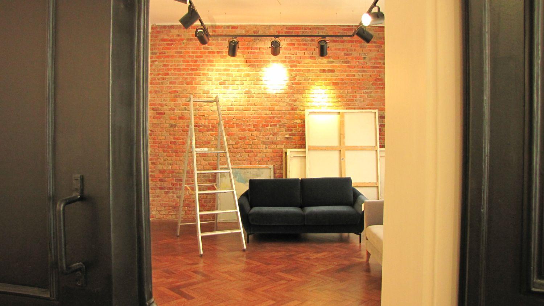 Galeria Dystans w Krakowie – widok wnętrza (źródło: materiały prasowe organizatora)