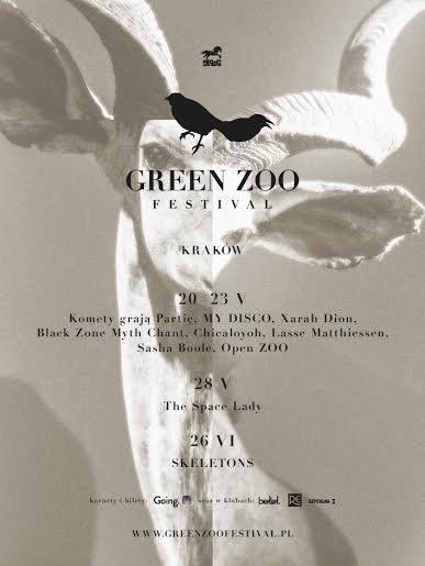 """""""Green ZOO Festival"""" – plakat (źródło: materiały prasowe organizatora)"""
