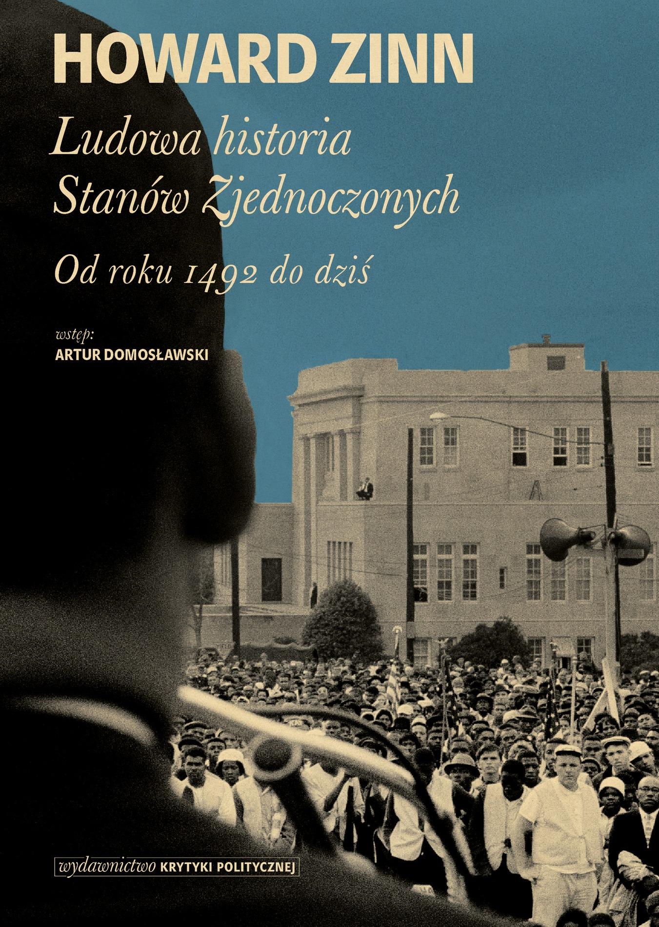 """Howard Zinn, """"Ludowa historia Stanów Zjednoczonych"""" – okładka książki (źródło: materiały prasowe wydawcy)"""