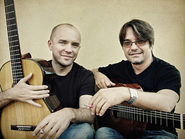 Krzysztof Pełech i Robert Horna (źródło: materiały prasowe organizatora)