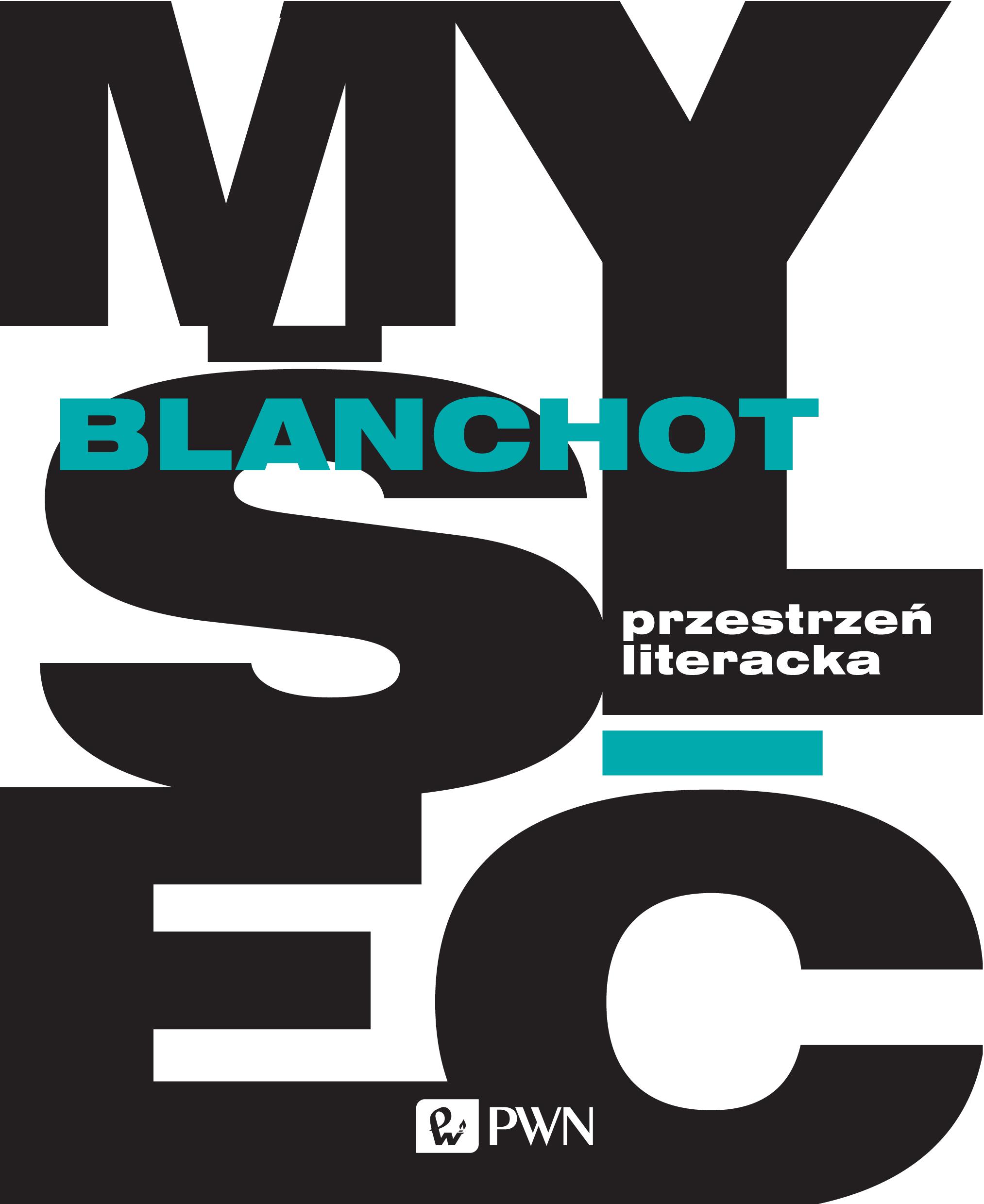 """Maurice Blanchot, """"Przestrzeń literacka"""" – okładka książki (źródło: materiały prasowe wydawcy)"""