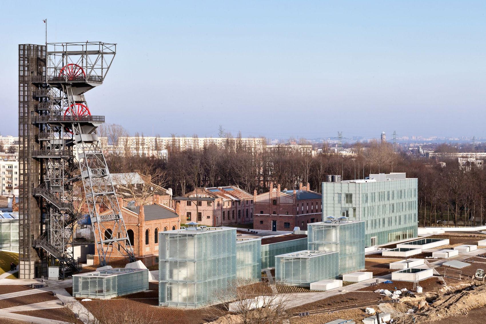 """Nowe Muzeum Śląskie w Katowicach (autorzy: Riegler Riewe Architekten). Fot. """"Architektura-murator"""" / M. Czechowicz (źródło: materiały prasowe organizatora)"""