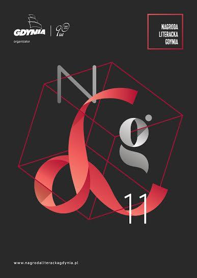"""""""Nagroda Literacka Gdynia"""" – plakat (źródło: materiały prasowe organizatora)"""