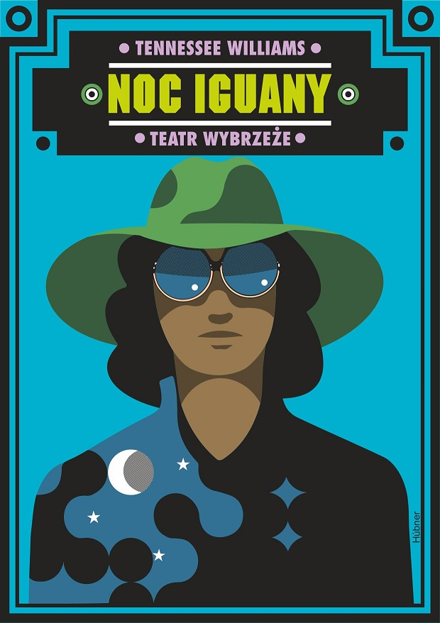 """""""Noc Iguany"""", reż. Pii Partum – plakat (źródło: materiały prasowe organizatora)"""