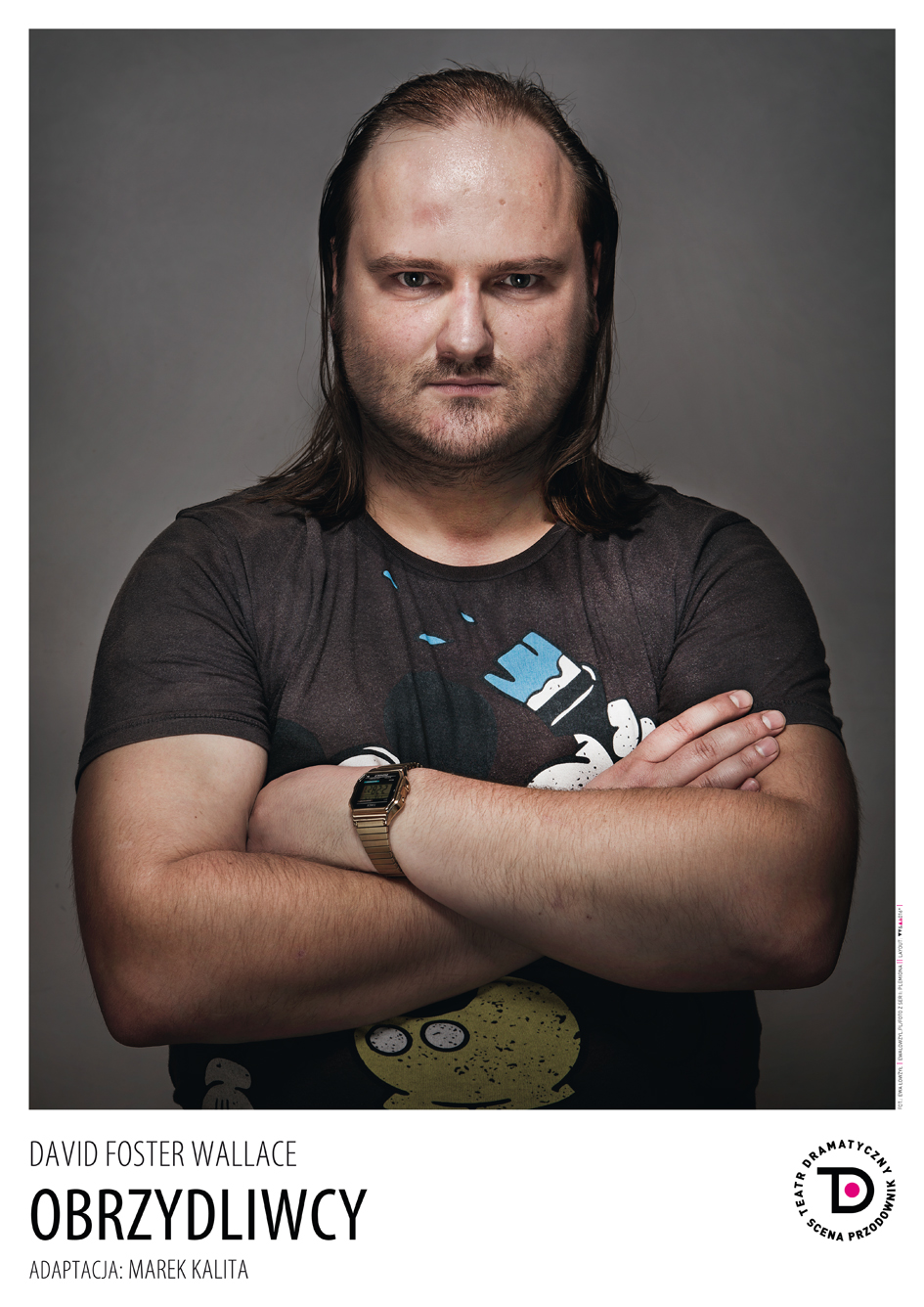 """""""Obrzydliwcy"""", reż. Marek Kalita – plakat (źródło: materiały prasowe organizatora)"""