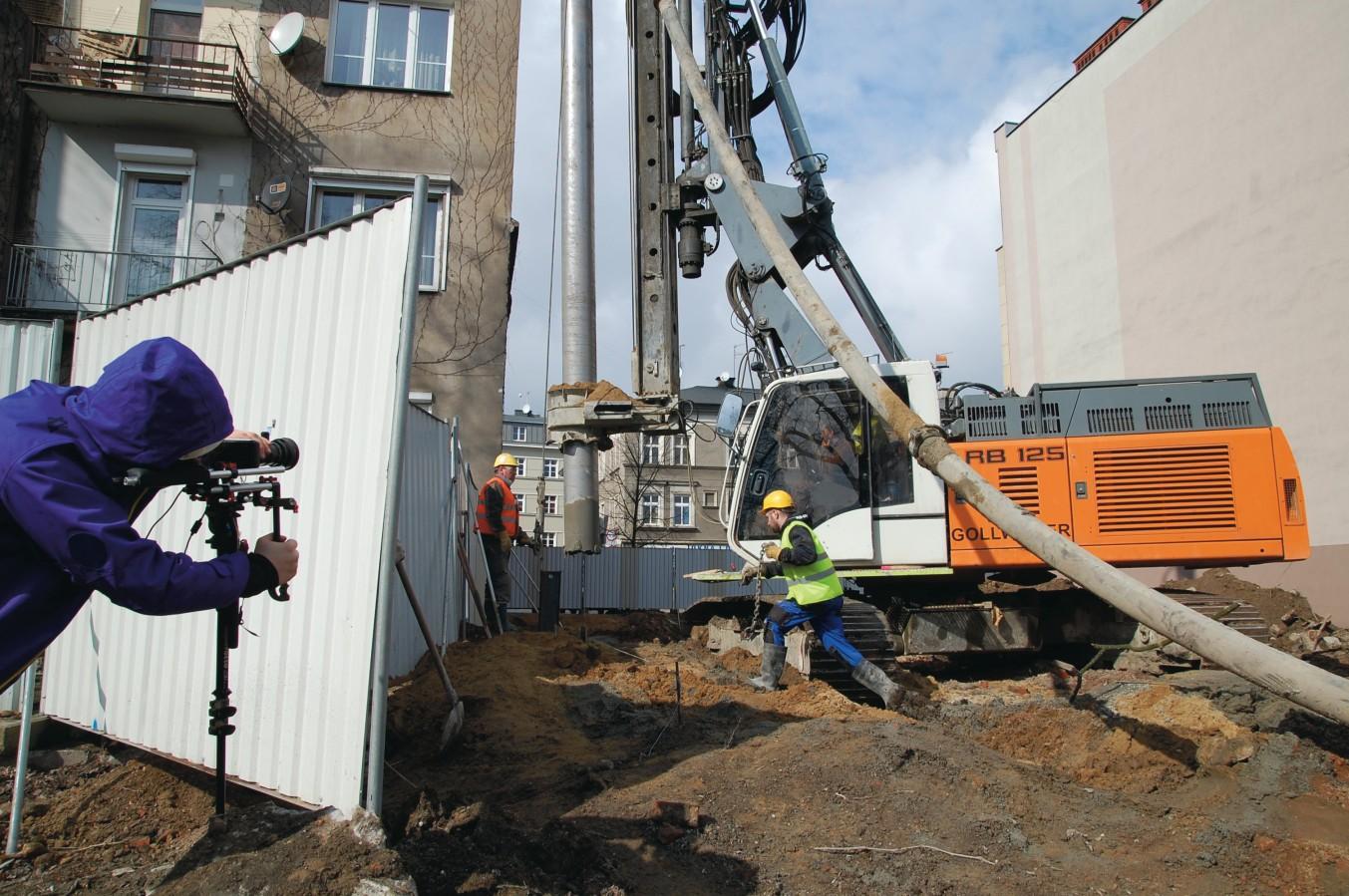 """Zdjęcie z planu do projektu """"Fair Building"""" w Pawilonie Polskim w Wenecji (źródło: materiały prasowe organizatora)"""