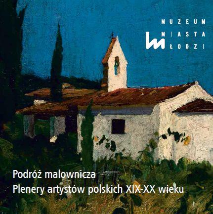"""""""Podróż malownicza. Plenery artystów polskich XIX i XX wieku"""", plakat (źródło: materiały prasowe)"""