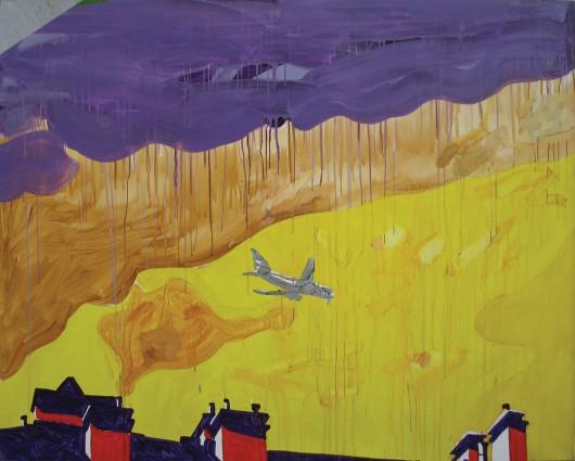 """Ryszard Grzyb, """"Kim jest ten, kto zaczyna podróż"""", 2008 (źródło: materiały prasowe dla organizatora)"""