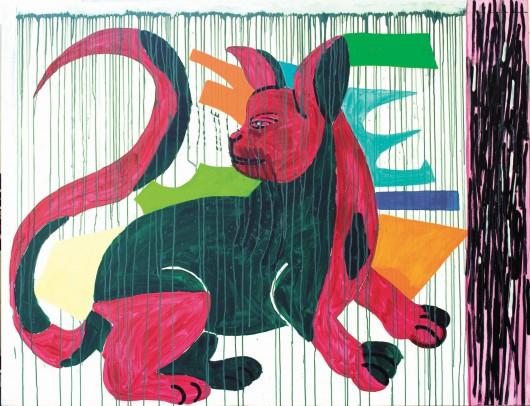 """Ryszard Grzyb, """"Ostrokot"""", 2007 (źródło: materiały prasowe dla organizatora)"""