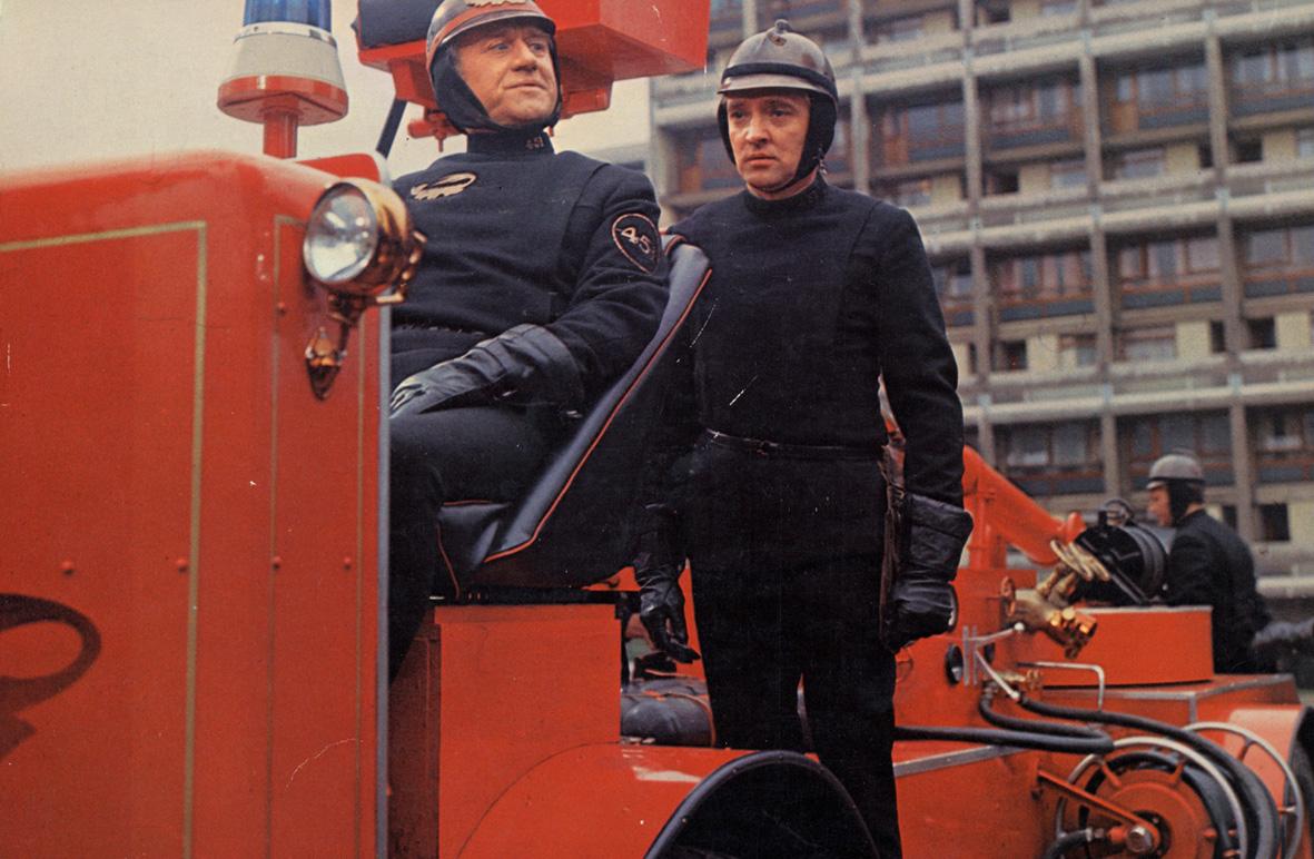 """""""Fahrenheit 451"""", reż. François Truffaut, kadr z filmu (źródło: materiały prasowe organizatora)"""