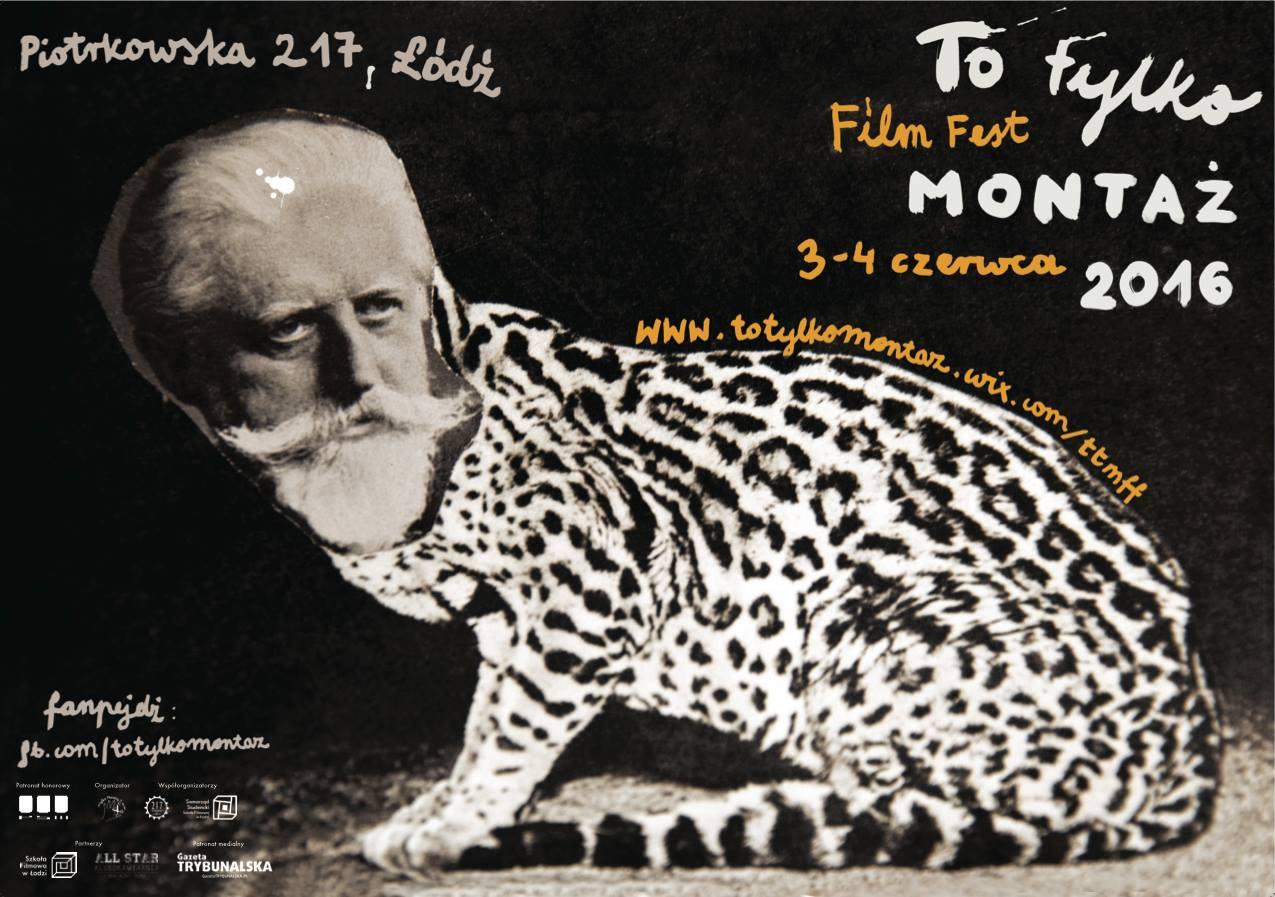 To Tylko Montaż Film Fest – plakat (źródło: materiały prasowe organizatora)