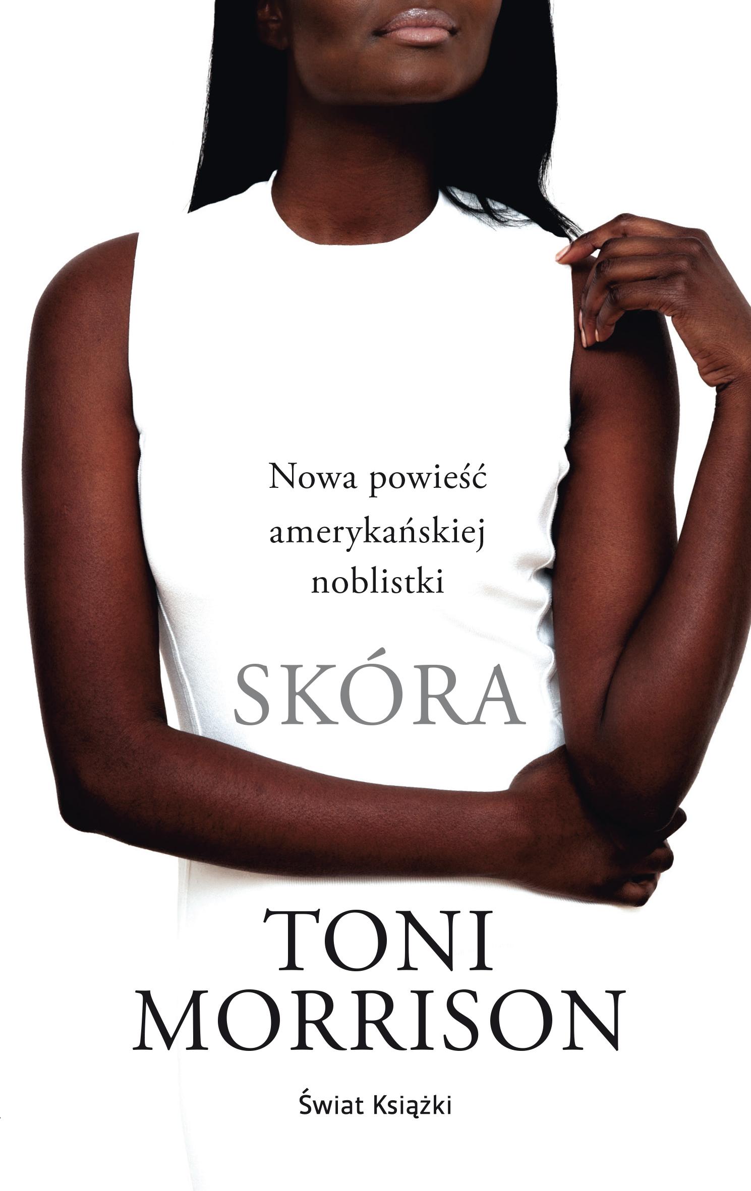 """Toni Morrison, """"Skóra"""" – okładka książki (źródło: materiały prasowe wydawcy)"""