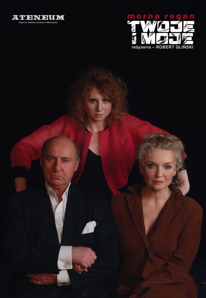 """""""Twoje i moje"""", reż. Robert Gliński – plakat (źródło: materiały prasowe organizatora)"""