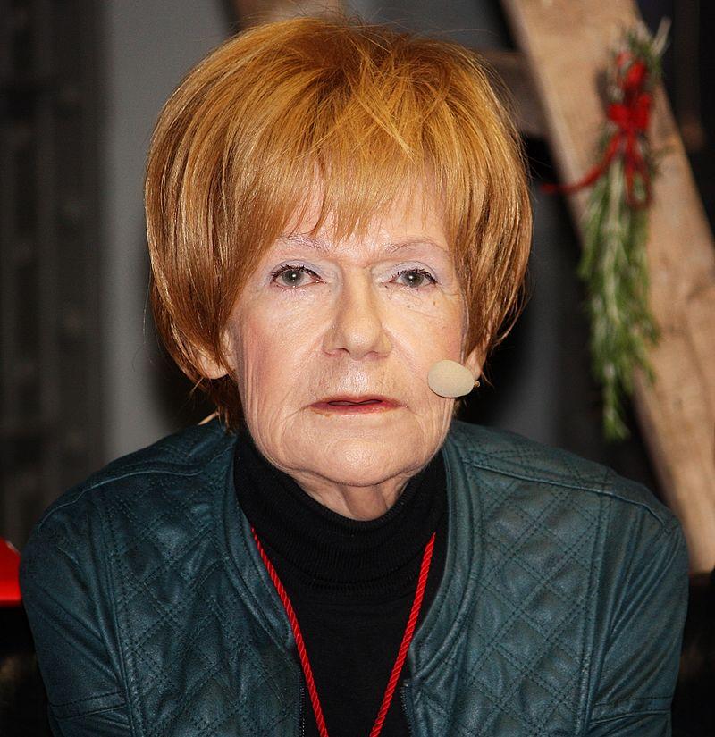 Maria Czubaszek, fot. Grzegorz Gołębiowski (źródło: domena publiczna)
