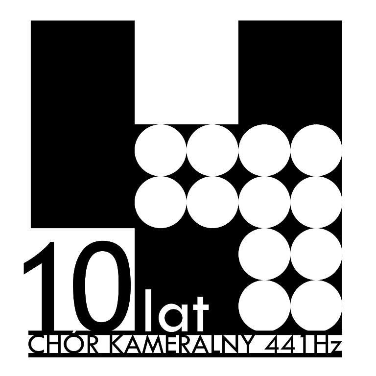 10-lecie Chóru Kameralnego 441 Hz Gdańsk– logo (źródło: materiały prasowe organizatora)