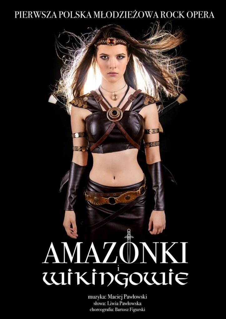 """""""Amazonki i Wikingowie"""", reż. Maciej Pawłowski – plakat (źródło: materiały prasowe organizatora)"""