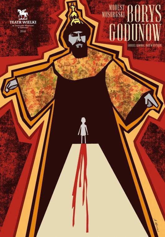"""""""Borys Godunow"""" – plakat (źródło: materiały prasowe organizatora)"""