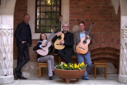 Cracow Guitar Quartet (źródło: materiały prasowe organizatora)