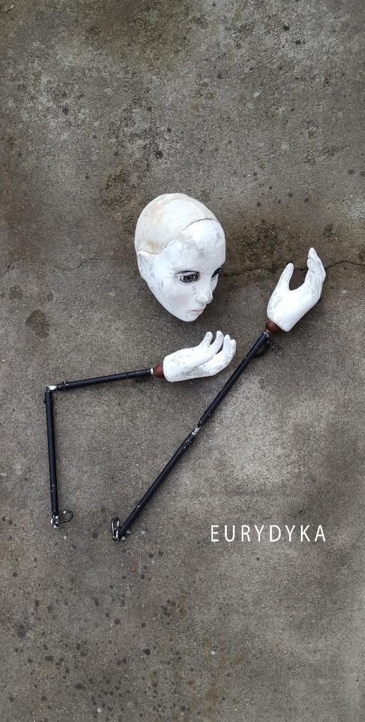 """""""Eurydyka"""", reż. Ewelina Ciszewska – plakat (źródło: materiały prasowe organizatora)"""