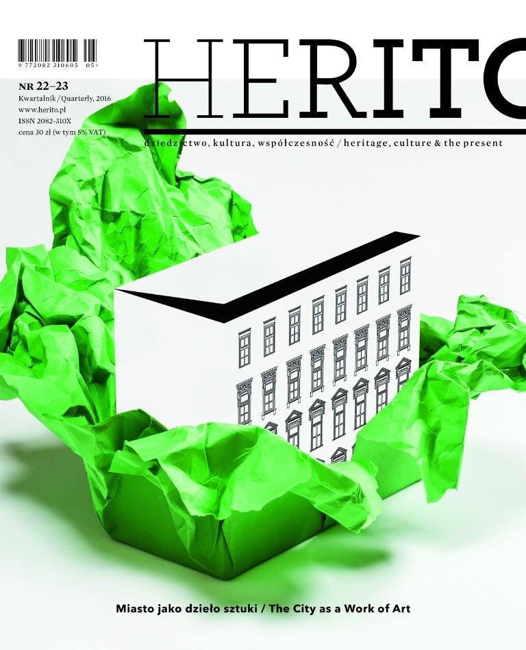 """""""Herito: Miasto jako dzieło sztuki"""", Międzynarodowe Centrum Kultury (źródło: materiały prasowe wydawcy)"""