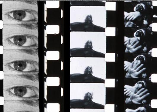 """Ian Emes, """"Atom Heart Mother Detail"""", montaż z klatek, Galeria Miejska, Wrocław (źródło materiały prasowe organizatora)"""