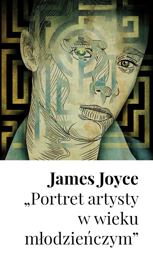 """James Joyce, """"Portret artysty w wieku młodzieńczym"""" – okładka książki (źródło: materiały prasowe wydawcy)"""