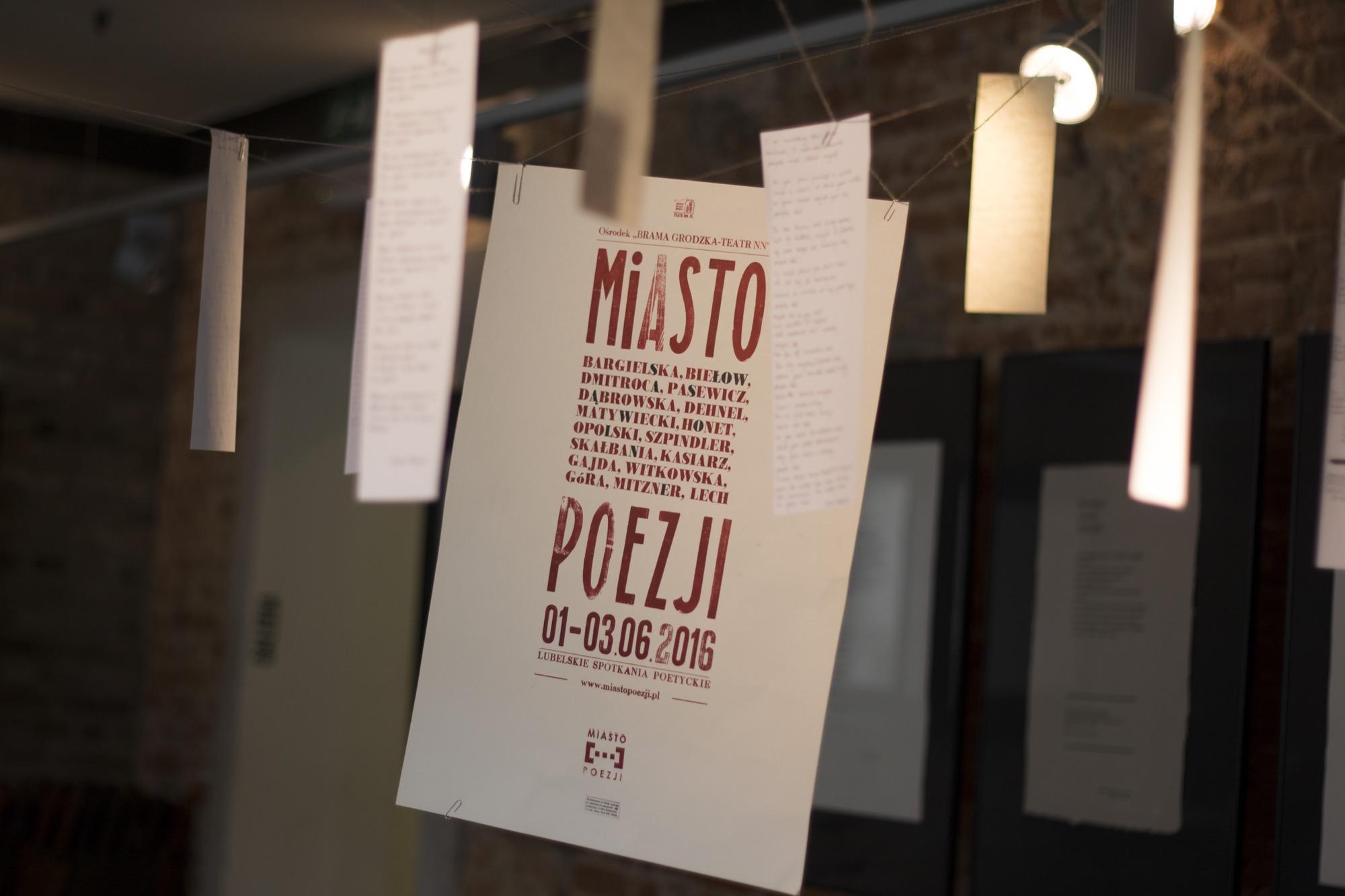 Miasto Poezji 2016, fot. Agata Dziemian (źródło materiały prasowe organizatora)