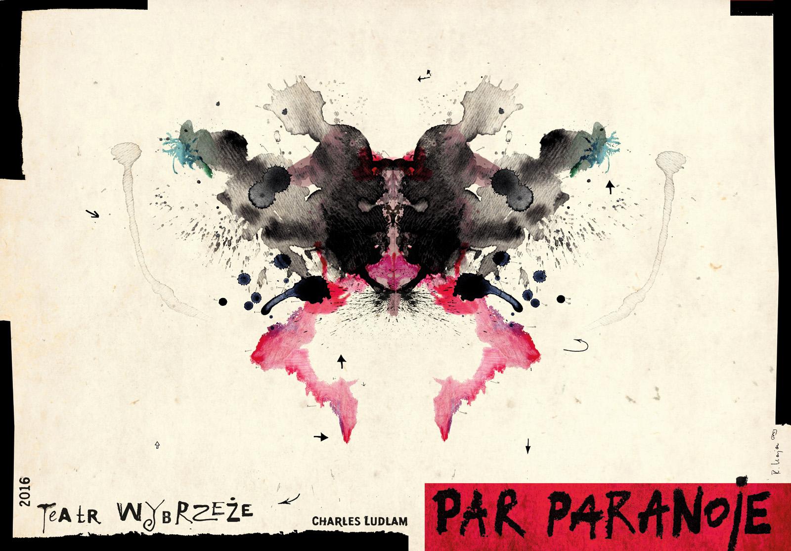 """Par Paranoje"" – plakat autorstwa Ryszarda Kaji (źródło: materiały prasowe organizatora)"