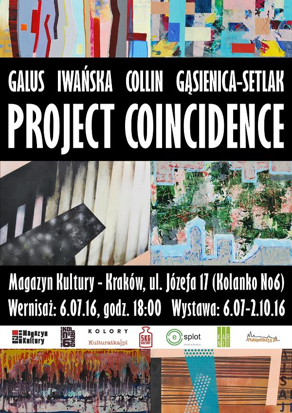 """Project Coincidence"" – plakat (źródło: materiały prasowe organizatora)"