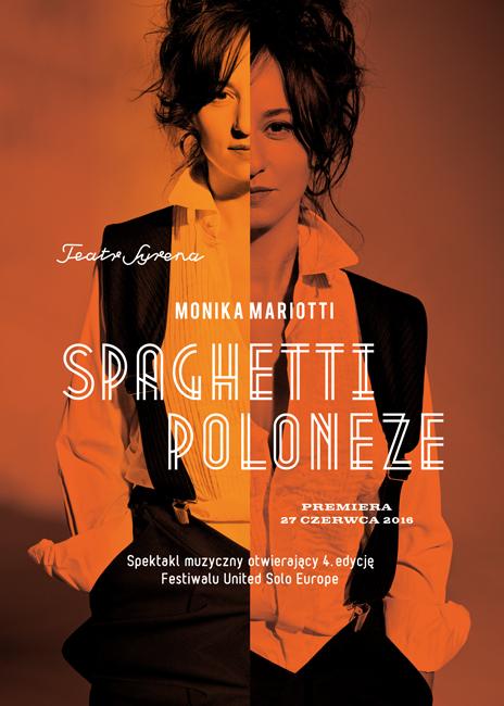 """""""Spaghetti Poloneze"""", reż. Monika Mariotti – plakat (źródło: materiały prasowe organizatora)"""