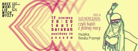 """""""Szeherezjada,czyli-baśń z jednej nocy"""", reż, Anna Nowicka – plakat (źródło: materiały prasowe organizatora)"""