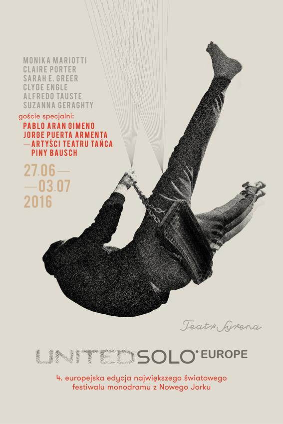 4. Festiwal United Solo Europe – plakat (źródło: materiały prasowe organizatora)