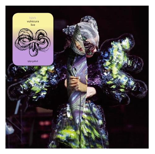 """""""Vulnicura Live"""", Björk – okładka płyty (źródło: materiały prasowe dystrybutora)"""