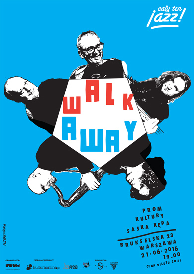 Walk Away – plakat koncertu (źródło: materiały prasowe organizatora)