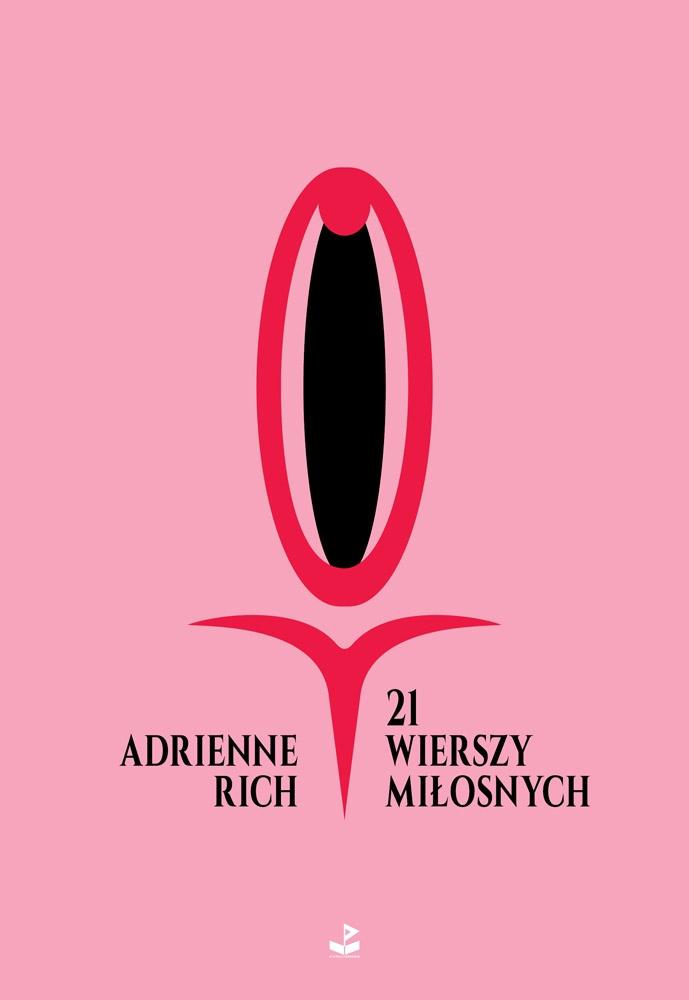 """Adrienne Rich, """"21 wierszy miłosnych"""", okładka książki (źródło: materiały prasowe wydawcy)"""