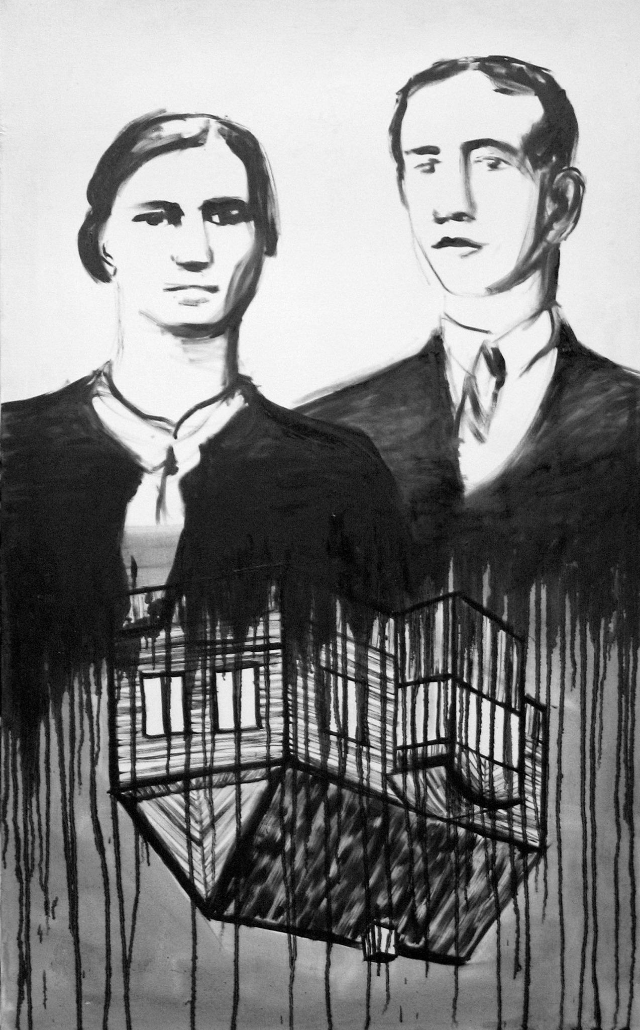 """Aleksandra Czerniawska, """"Portret podwójny"""", 2008 (źródło: materiały prasowe organizatora)"""